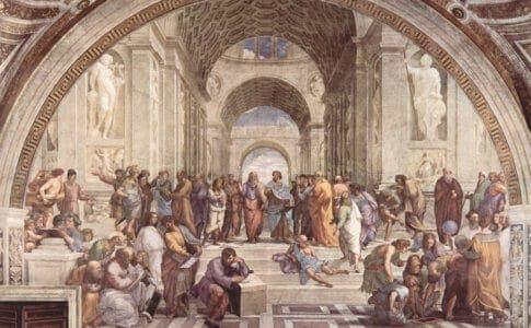 アテネの殿堂