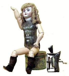 おしゃべり人形 エジソン