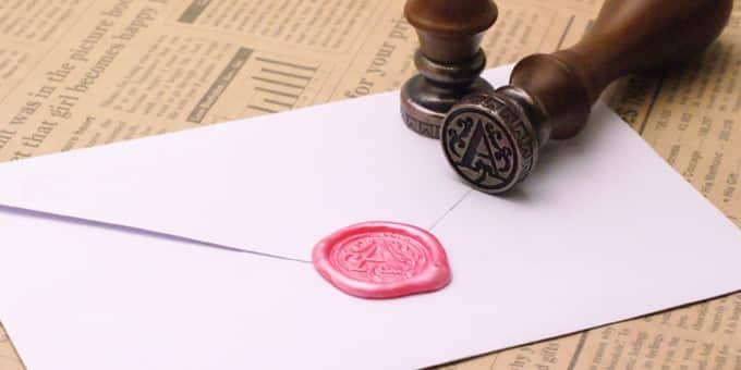 アンケート 封筒